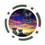 2-77-Animals-Wildlife-1024-010 Poker Chip Card Guard (10 pack)