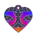 popart%202-30230 Dog Tag Heart (Two Sides)