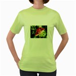 1-4 Women s Green T-Shirt
