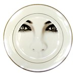 Eyes2 Porcelain Plate