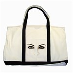 Eyes2 Two Tone Tote Bag