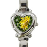 flowers_30 Heart Italian Charm Watch
