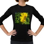 flowers_30 Women s Long Sleeve Dark T-Shirt