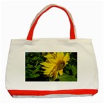 flowers_30 Classic Tote Bag (Red)