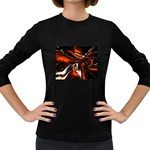 wallpaper_12280 Women s Long Sleeve Dark T-Shirt