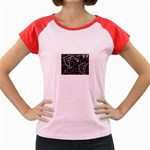 wallpaper_12647 Women s Cap Sleeve T-Shirt