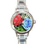 wallpaper_16293 Round Italian Charm Watch