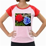 wallpaper_16293 Women s Cap Sleeve T-Shirt