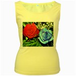 wallpaper_16293 Women s Yellow Tank Top
