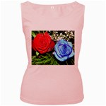 wallpaper_16293 Women s Pink Tank Top