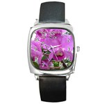 wallpaper_19193 Square Metal Watch
