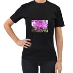 wallpaper_19193 Women s Black T-Shirt (Two Sides)