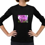wallpaper_19193 Women s Long Sleeve Dark T-Shirt