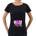 wallpaper_19193 Maternity Black T-Shirt