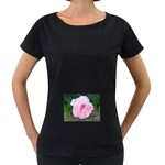 wallpaper_17147 Maternity Black T-Shirt