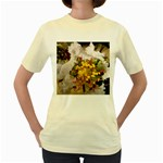 wallpaper_17805 Women s Yellow T-Shirt