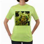 wallpaper_17805 Women s Green T-Shirt