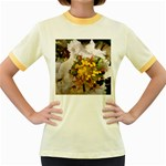 wallpaper_17805 Women s Fitted Ringer T-Shirt