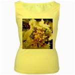 wallpaper_17805 Women s Yellow Tank Top
