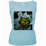 wallpaper_17805 Women s Baby Blue Tank Top