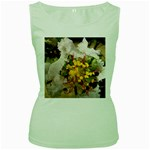 wallpaper_17805 Women s Green Tank Top