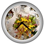 wallpaper_17805 Wall Clock (Silver)