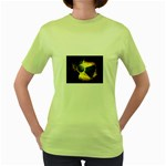 wallpaper_21592 Women s Green T-Shirt