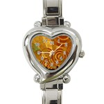 wallpaper_22315 Heart Italian Charm Watch