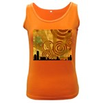 wallpaper_22315 Women s Dark Tank Top