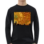 wallpaper_22315 Long Sleeve Dark T-Shirt