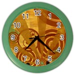 wallpaper_22315 Color Wall Clock
