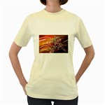 7 Women s Yellow T-Shirt