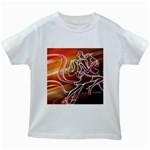 7 Kids White T-Shirt