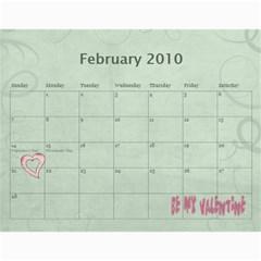 Calendar 09 By Nicki   Wall Calendar 11  X 8 5  (12 Months)   Qk0qmw7xwqkc   Www Artscow Com Feb 2010