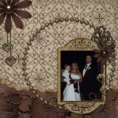 Wedding Sb 1 By Cookie6672 8 x8  Scrapbook Page - 4