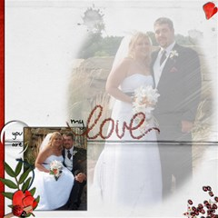 Wedding Sb 1 By Cookie6672 8 x8  Scrapbook Page - 5