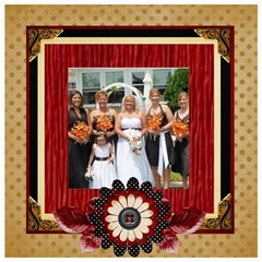 Wedding Sb 2 By Cookie6672 8 x8  Scrapbook Page - 2