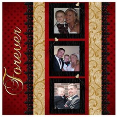 Wedding Sb 2 By Cookie6672 8 x8  Scrapbook Page - 3