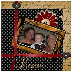 Wedding Sb 2 By Cookie6672 8 x8  Scrapbook Page - 4
