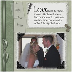 Wedding Sb 3 By Cookie6672   Scrapbook Page 8  X 8    O6lyw46omuc6   Www Artscow Com 8 x8 Scrapbook Page - 1