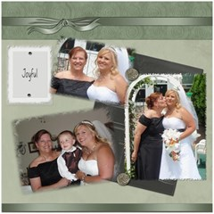 Wedding Sb 3 By Cookie6672   Scrapbook Page 8  X 8    O6lyw46omuc6   Www Artscow Com 8 x8 Scrapbook Page - 2