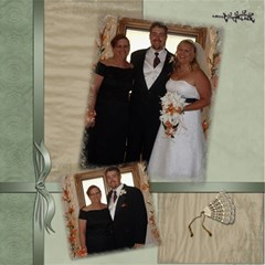 Wedding Sb 3 By Cookie6672   Scrapbook Page 8  X 8    O6lyw46omuc6   Www Artscow Com 8 x8 Scrapbook Page - 3