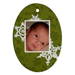 Mom & Dad Ornament - Ornament (Oval)
