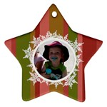 Landon Star Ornament - Ornament (Star)