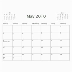 Girls By Scott   Wall Calendar 11  X 8 5  (12 Months)   H0c75tfb3oyr   Www Artscow Com May 2010
