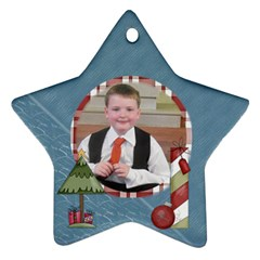 Holidays Are Comin star Ornament Www Catdesignz Com By Catvinnat   Star Ornament (two Sides)   A3jhh1vddatq   Www Artscow Com Back
