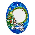 Christmas - Ornament (Oval)