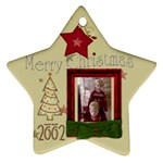 Christmas Star 2002 - Ornament (Star)