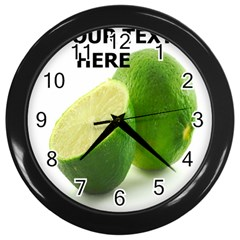 lemon-CLOCK Wall Clock (Black) by D694787B