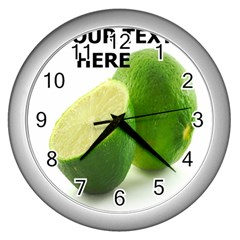 lemon-CLOCK Wall Clock (Silver) by D694787B